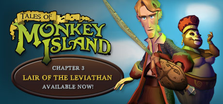 Tales of Monkey Island Complete Pack: Chapter 3 - Lair of the Leviathan