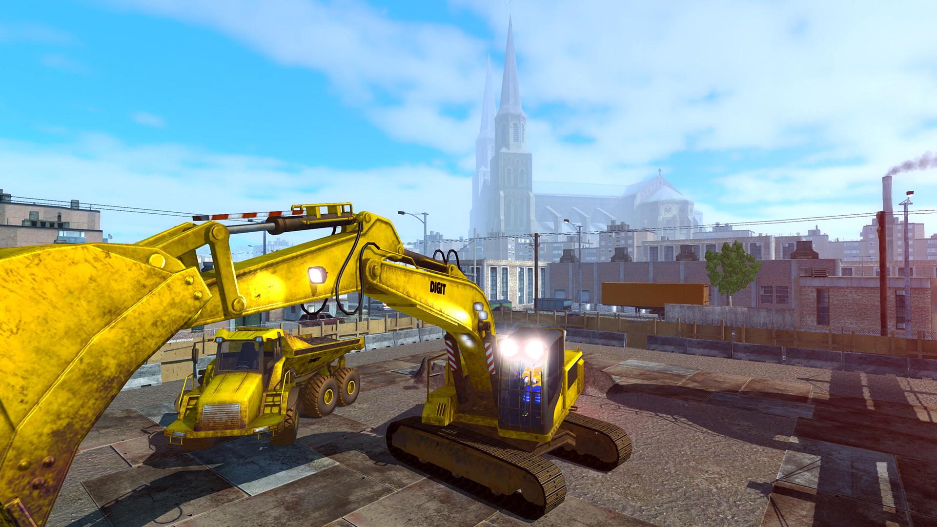 صور تحميل لعبة شاحنات البناء الرائعة Digger Simulator-POSTMORTEM