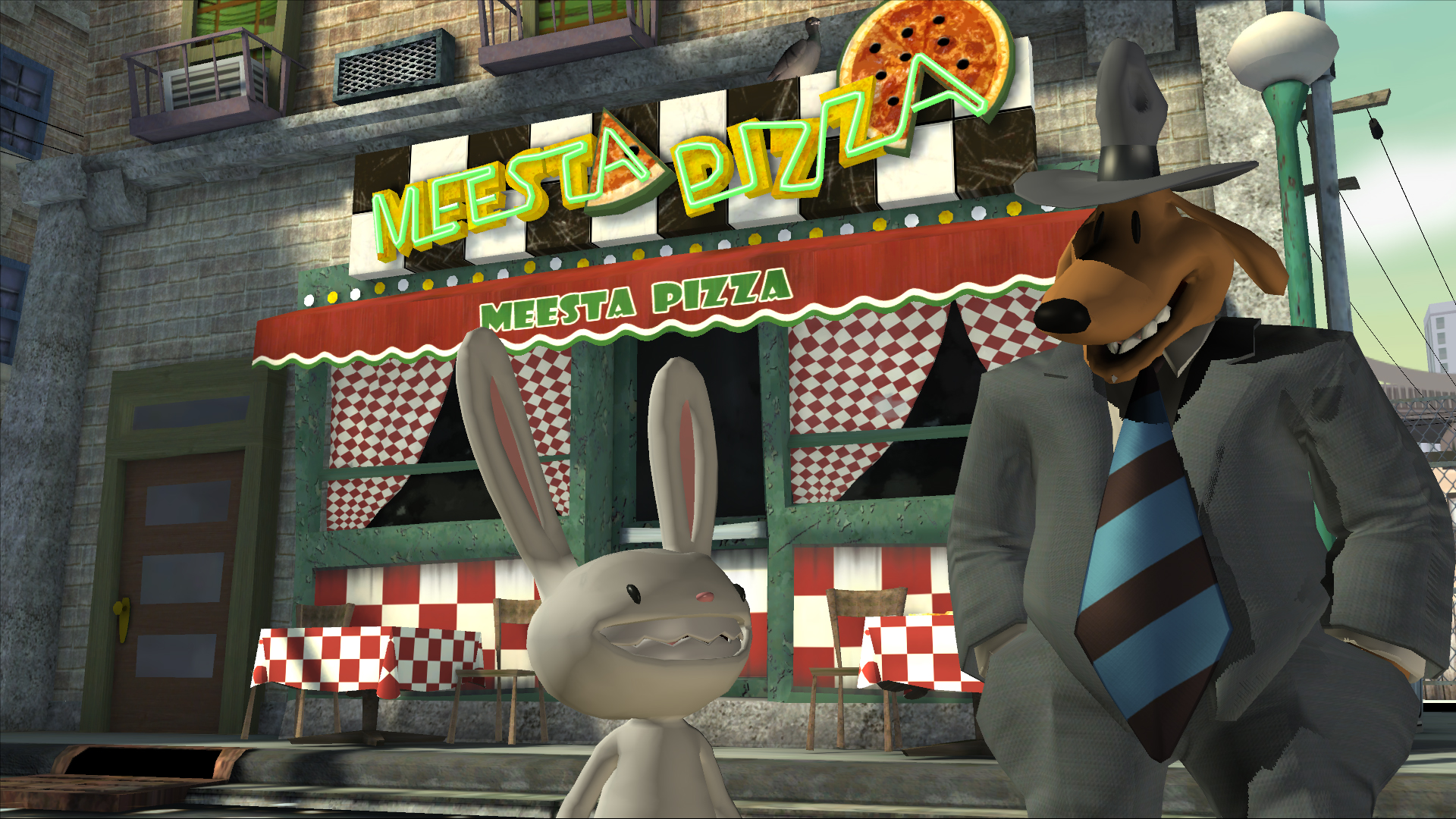 Sam & Max 301: The Penal Zone screenshot