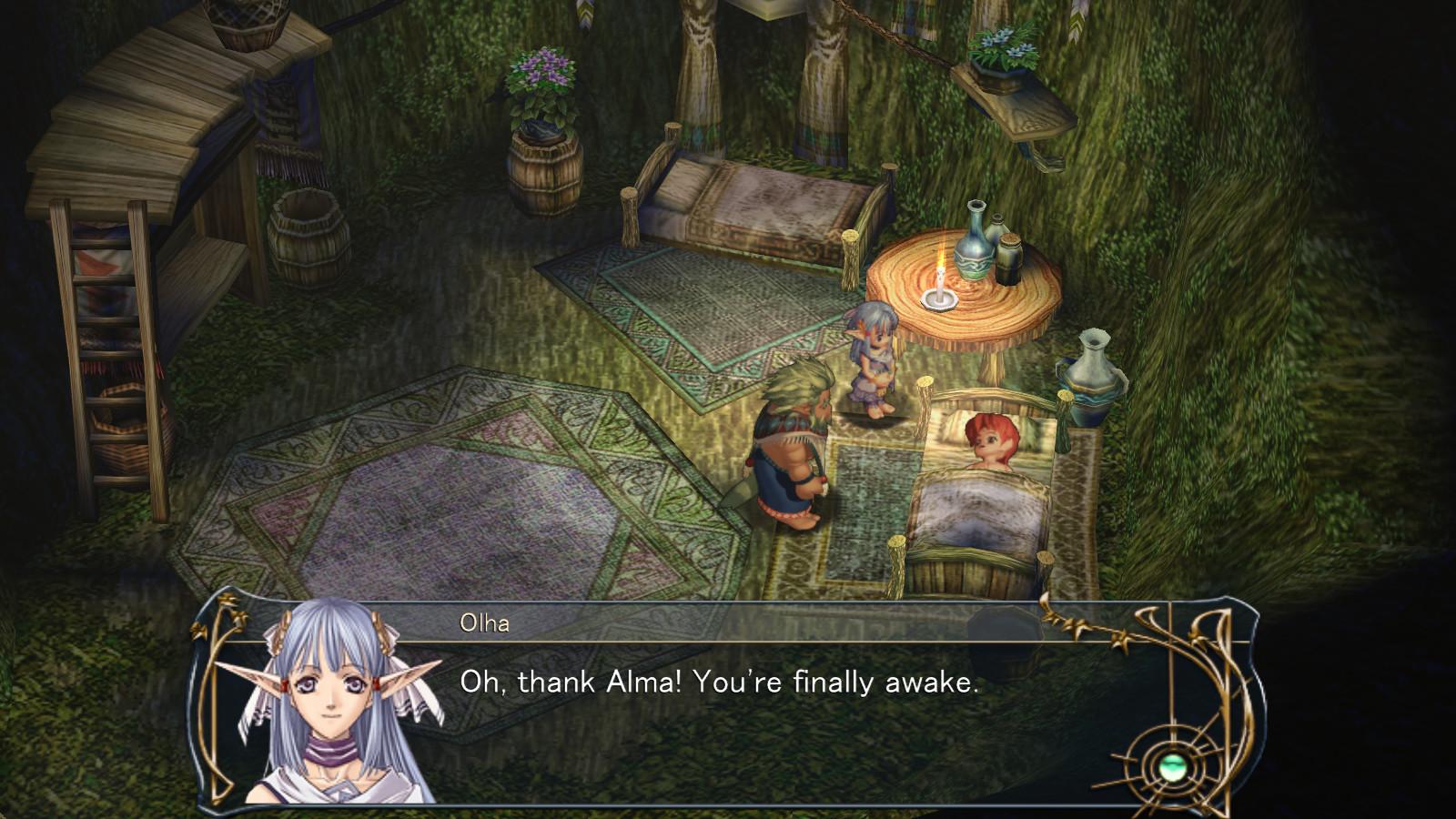 Ys VI: The Ark of Napishtim screenshot 1