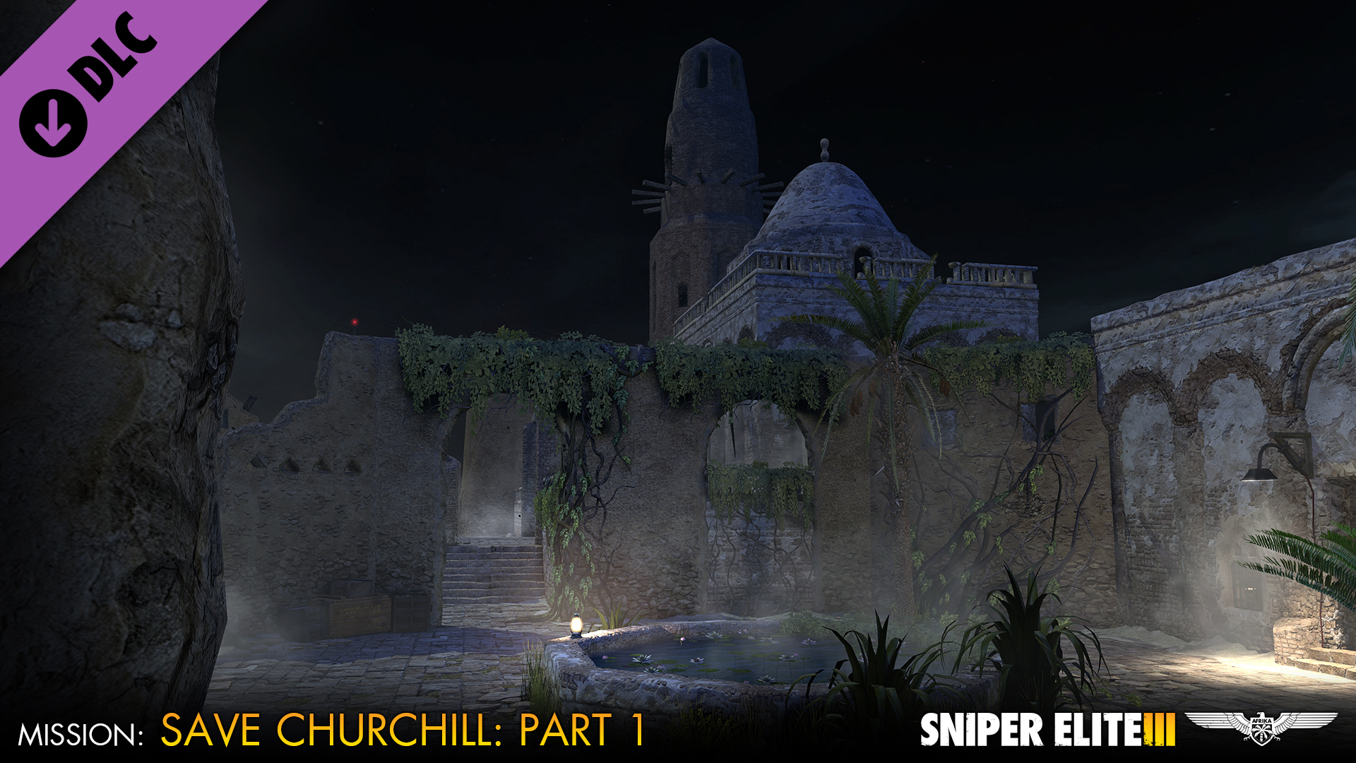 Sniper Elite 3 - Save Churchill Part 1: In Shadows screenshot