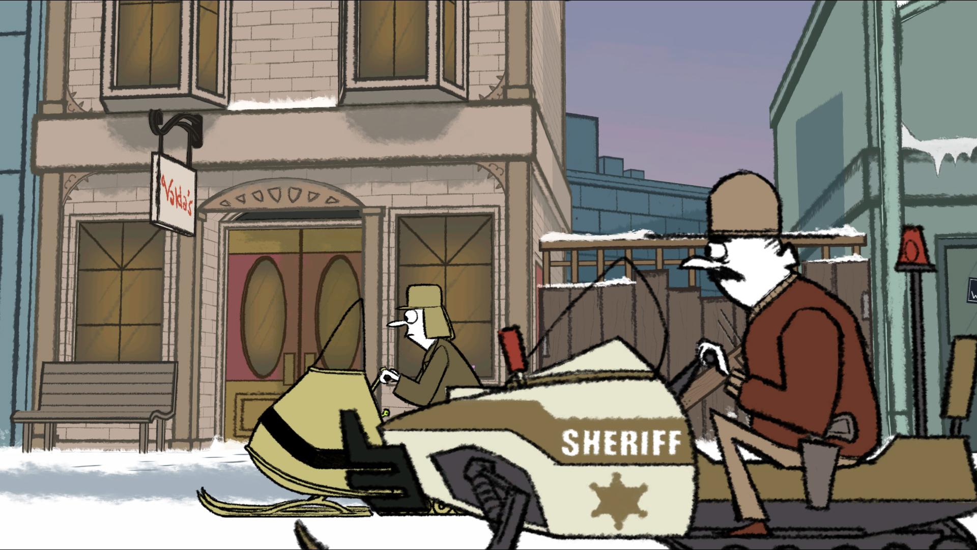 Puzzle Agent screenshot