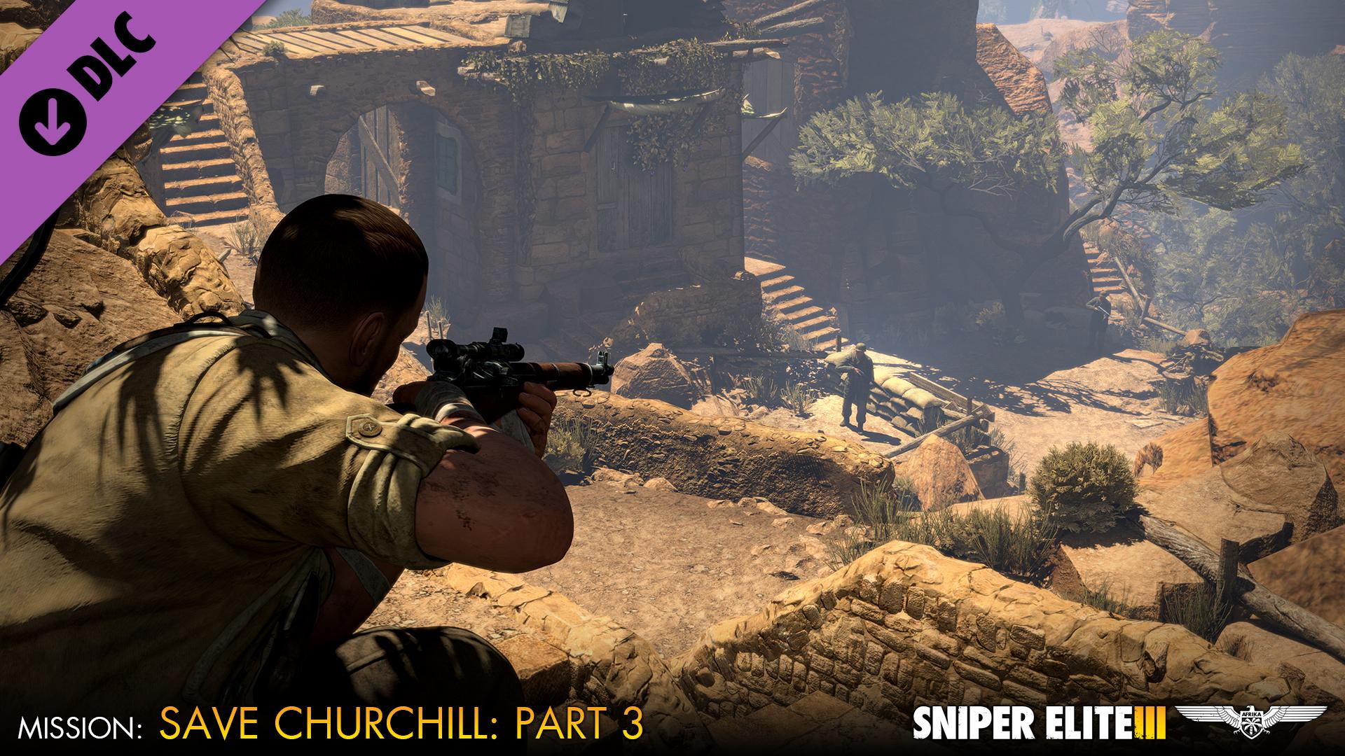 Sniper Elite 3 - Save Churchill Part 3: Confrontation screenshot