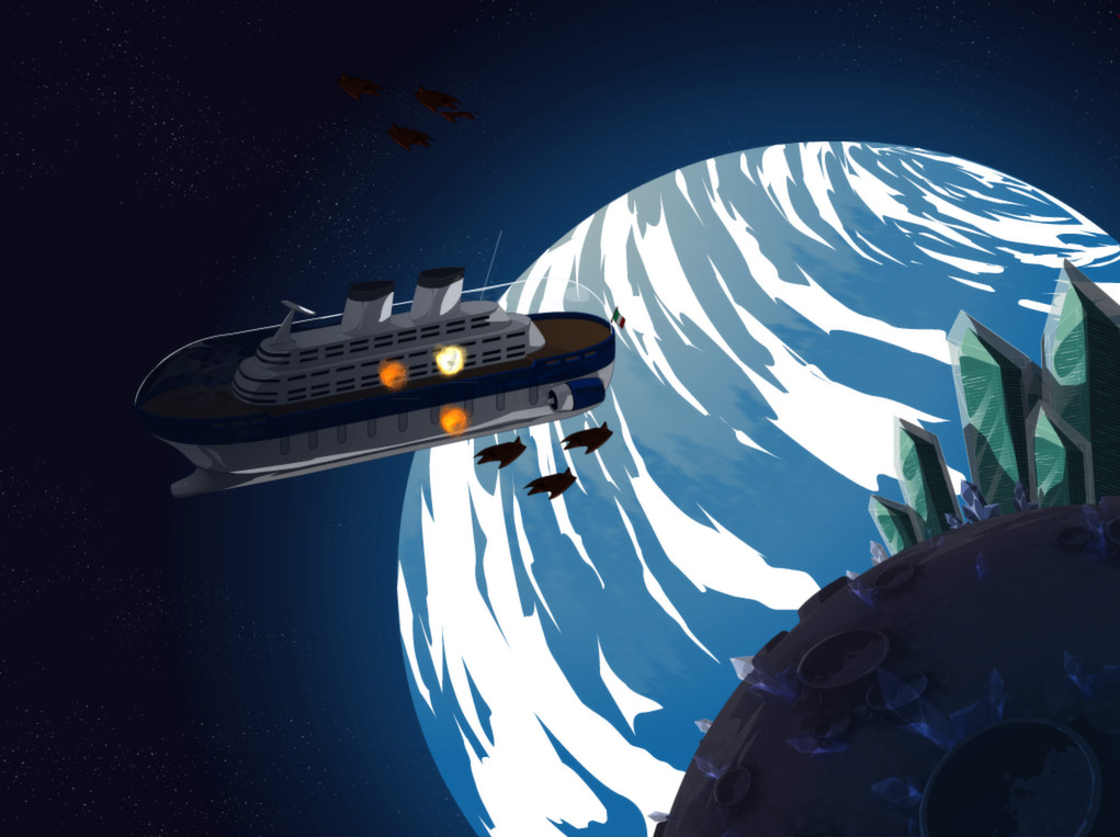 My Ex-Boyfriend the Space Tyrant screenshot