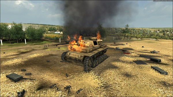 скачать игру Graviteam Tactics Mius Front - фото 2