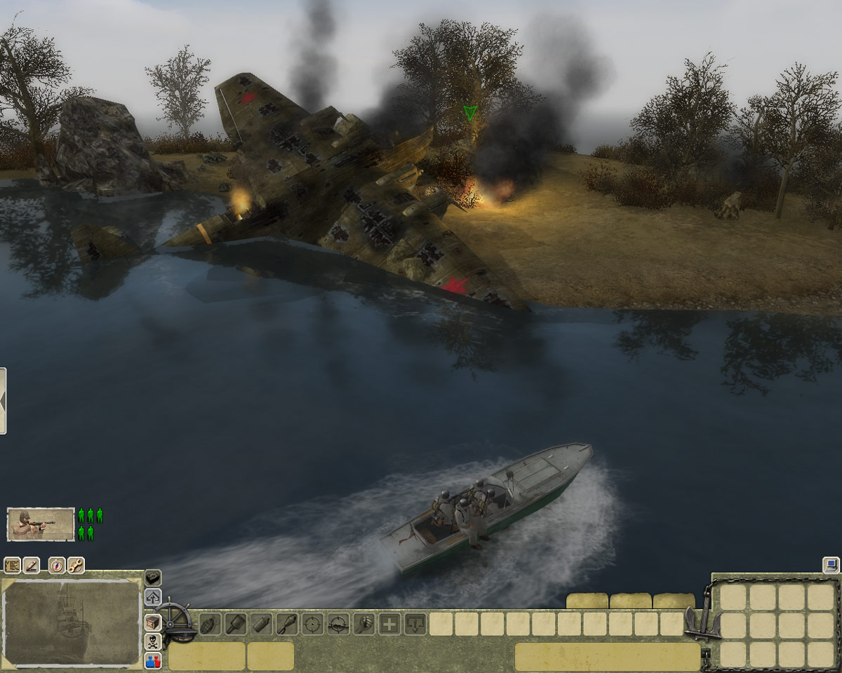 Men of War: Red Tide screenshot