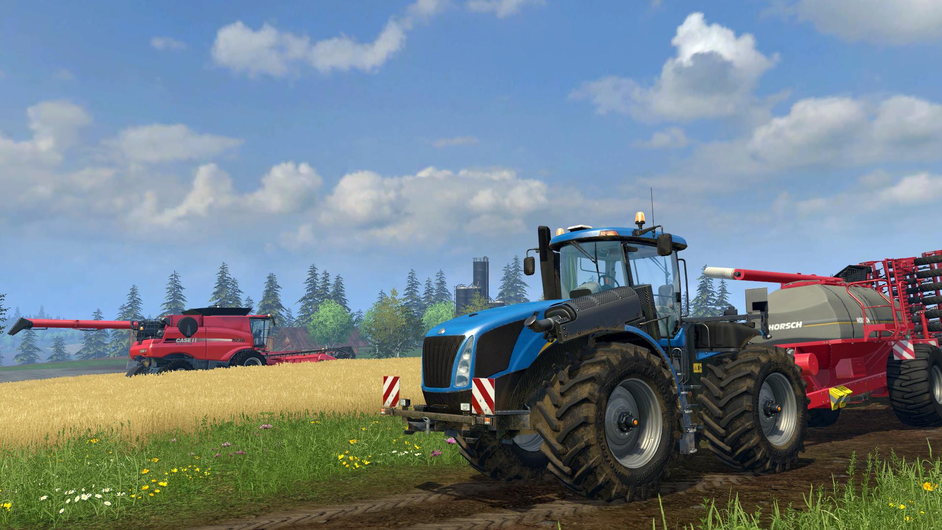 Farming Simulator 15 Multilenguaje ESPAÑOL PC