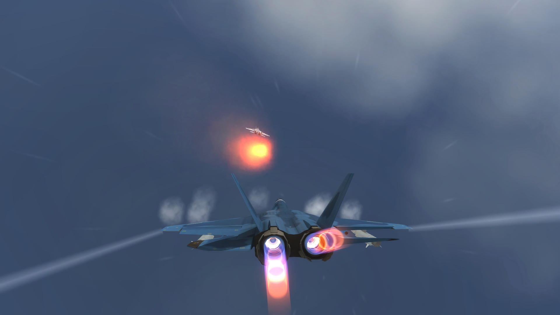 Vertical Strike Endless Challenge screenshot