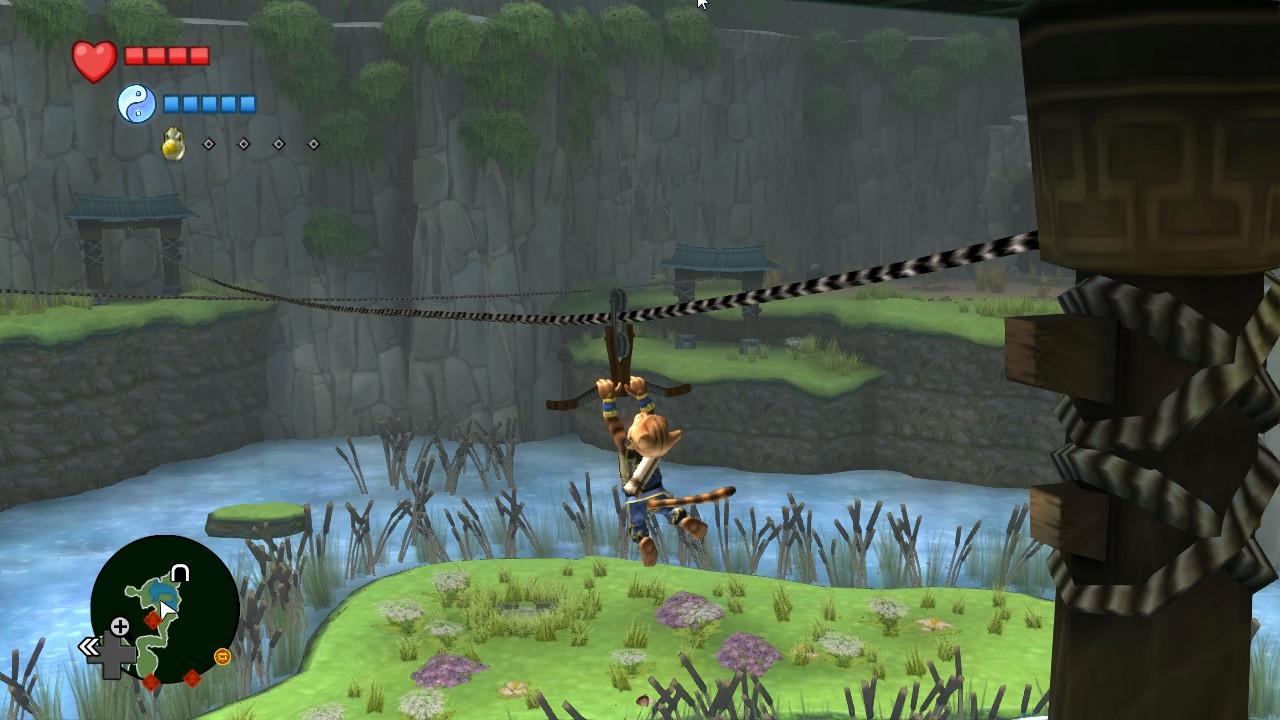 Legend of Kay Anniversary screenshot