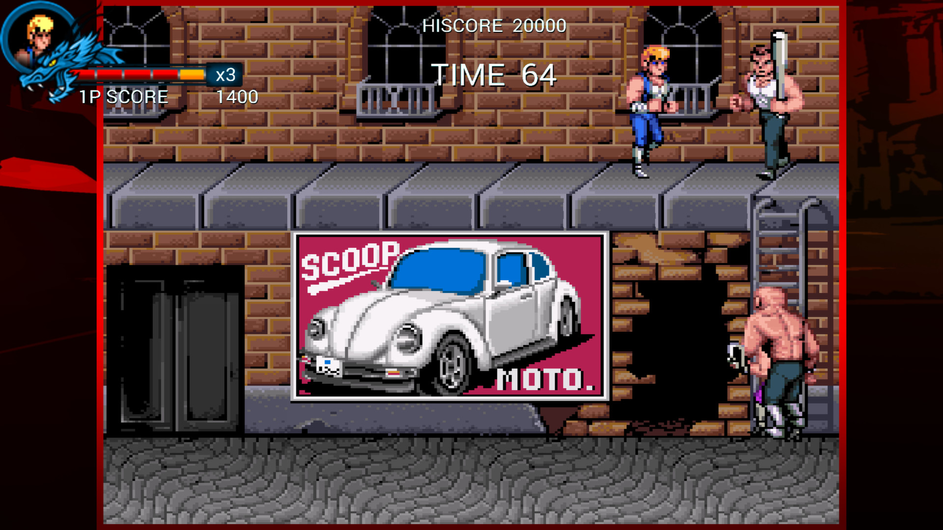 Double Dragon Trilogy screenshot 2