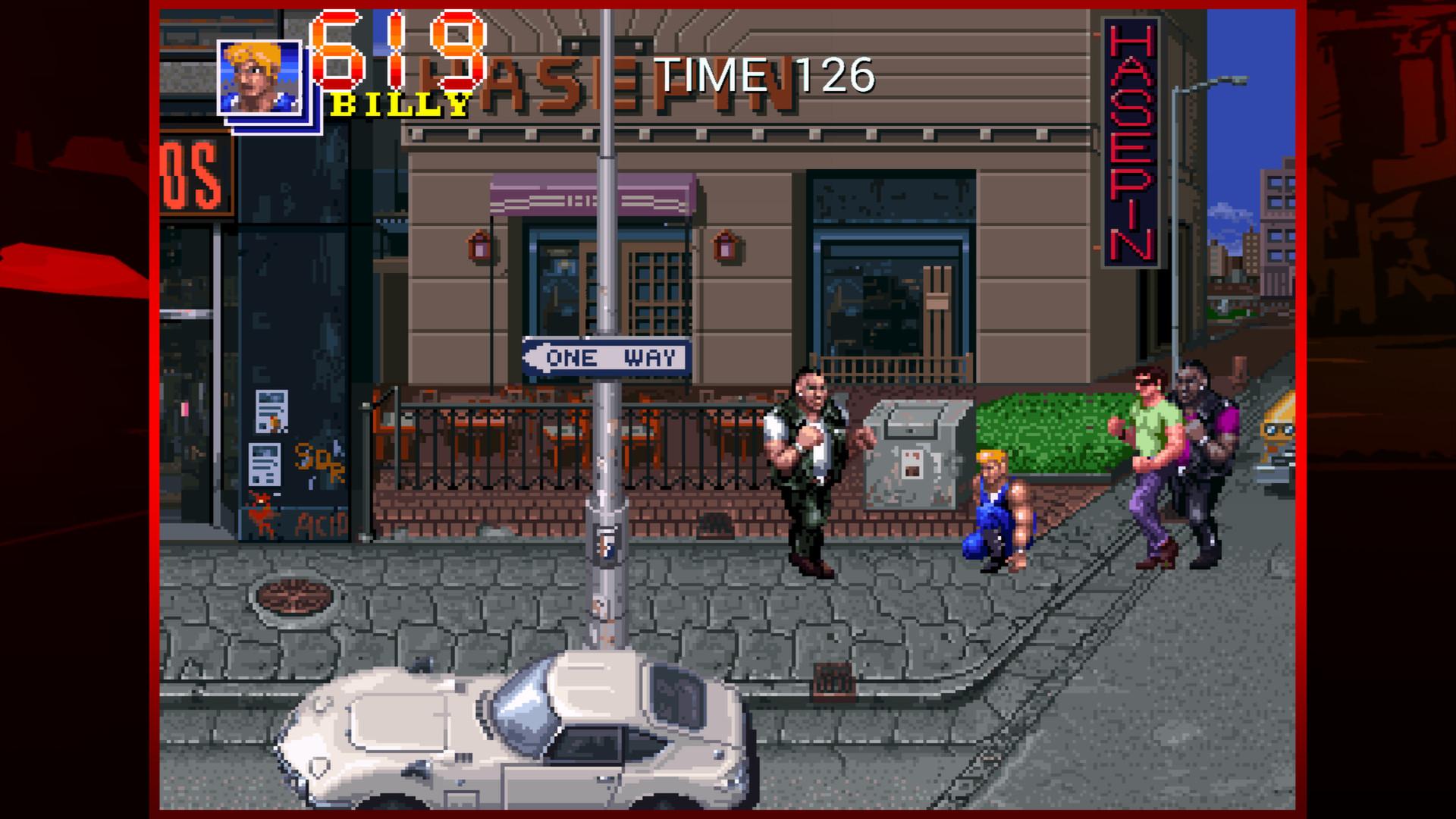 Double Dragon Trilogy screenshot 3
