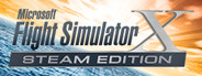 Logo for Microsoft Flight Simulator X: Steam Edition