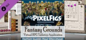Fantasy Grounds - PixelFigs Half-Orcs Token and Portrait Pack