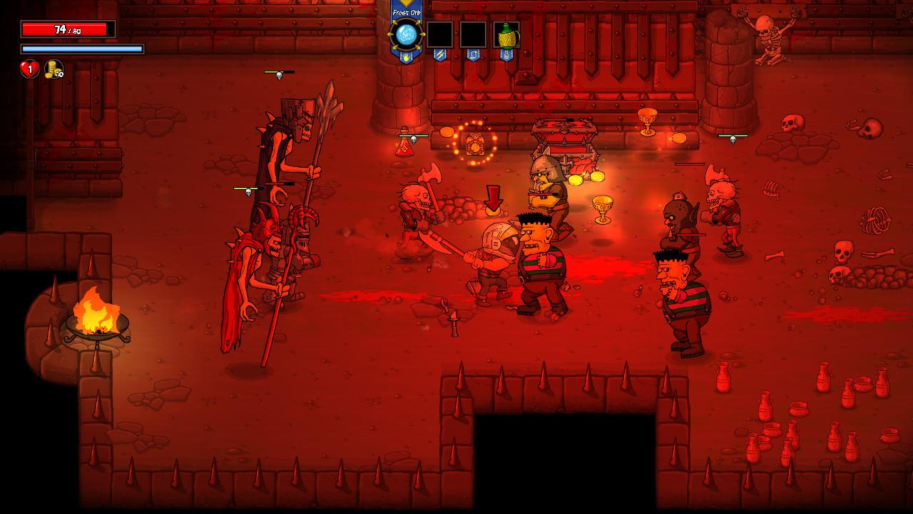 Rampage Knights screenshot