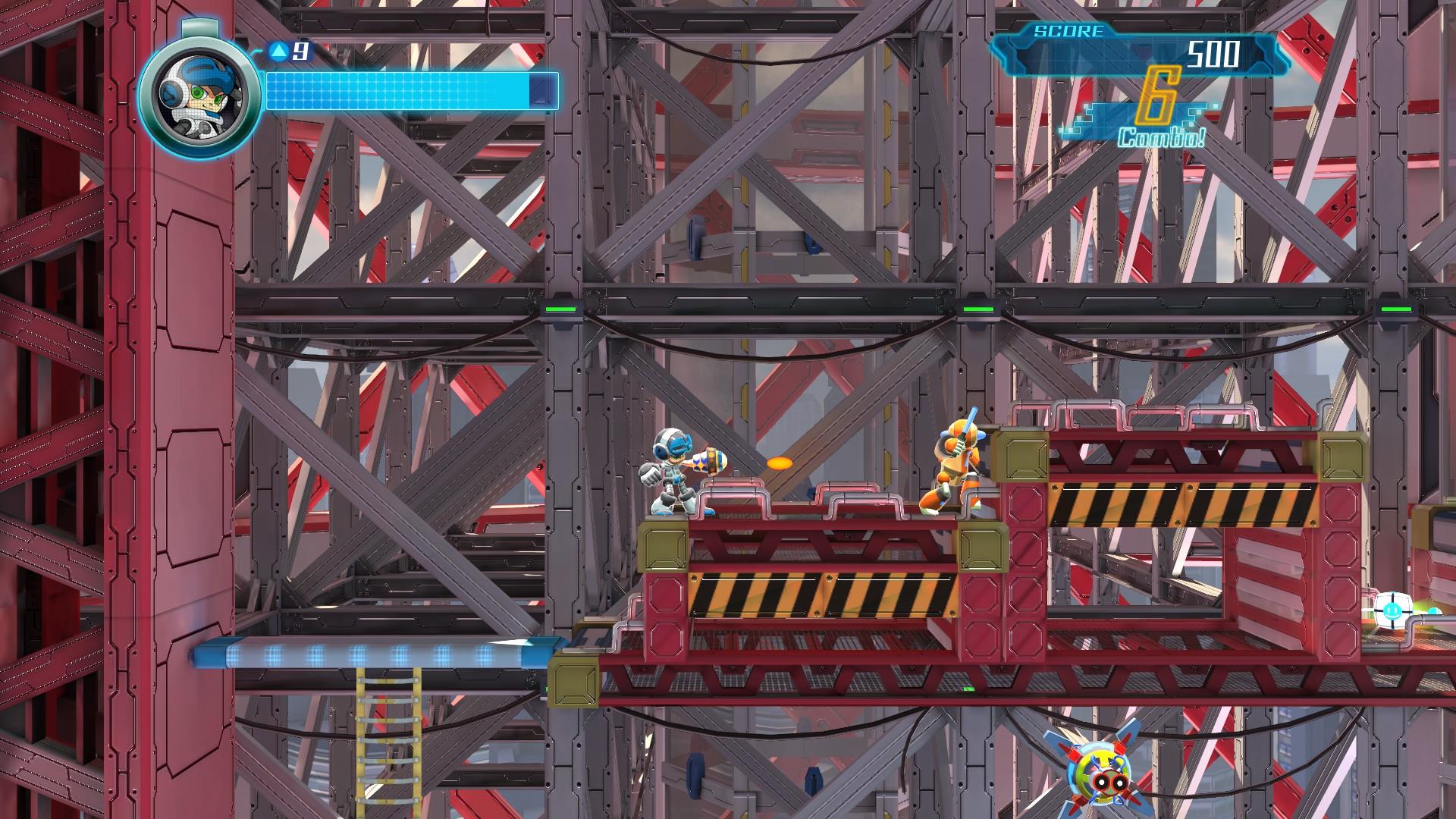 Mighty No. 9 screenshot