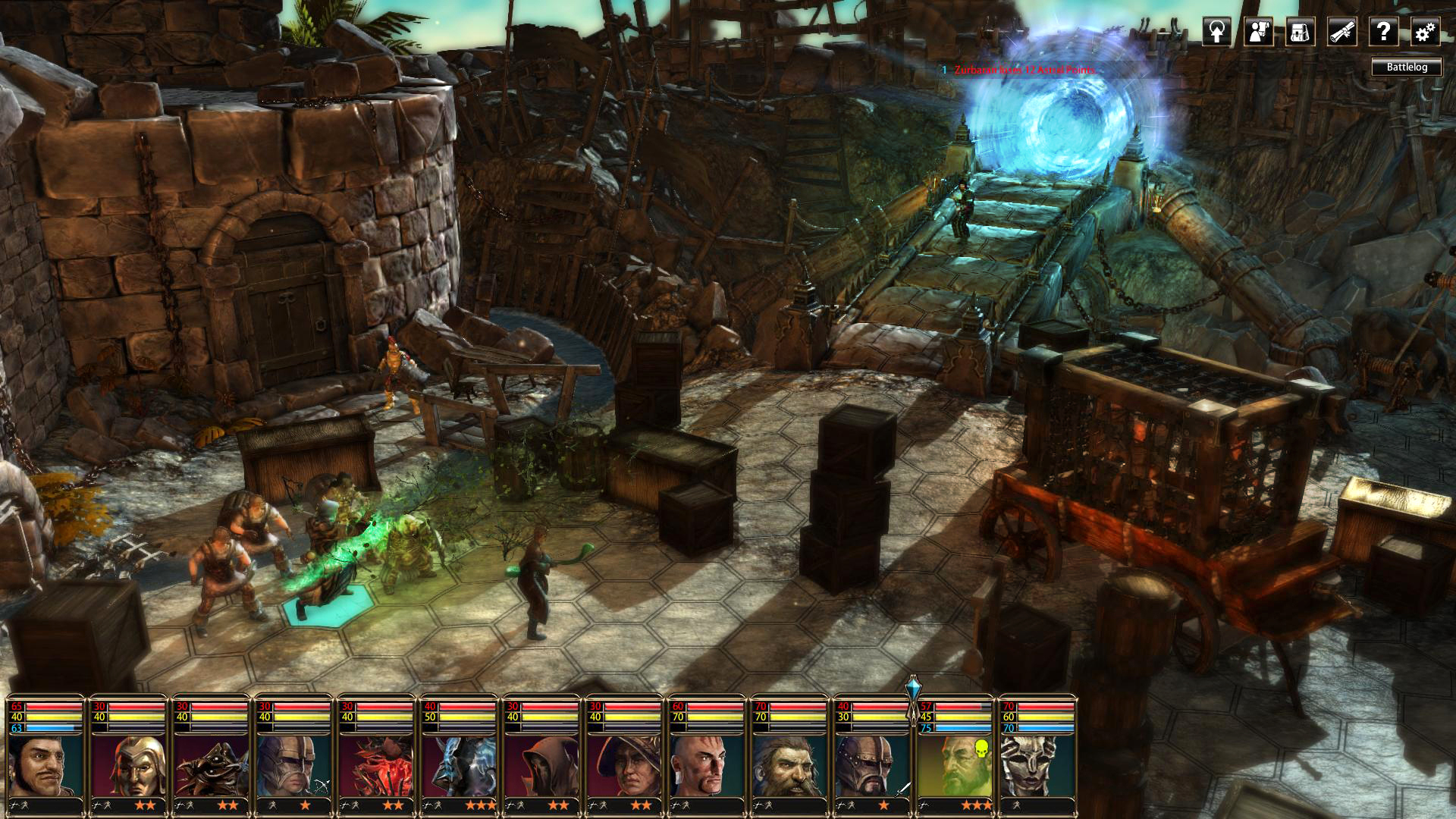 Blackguards 2 screenshot 3