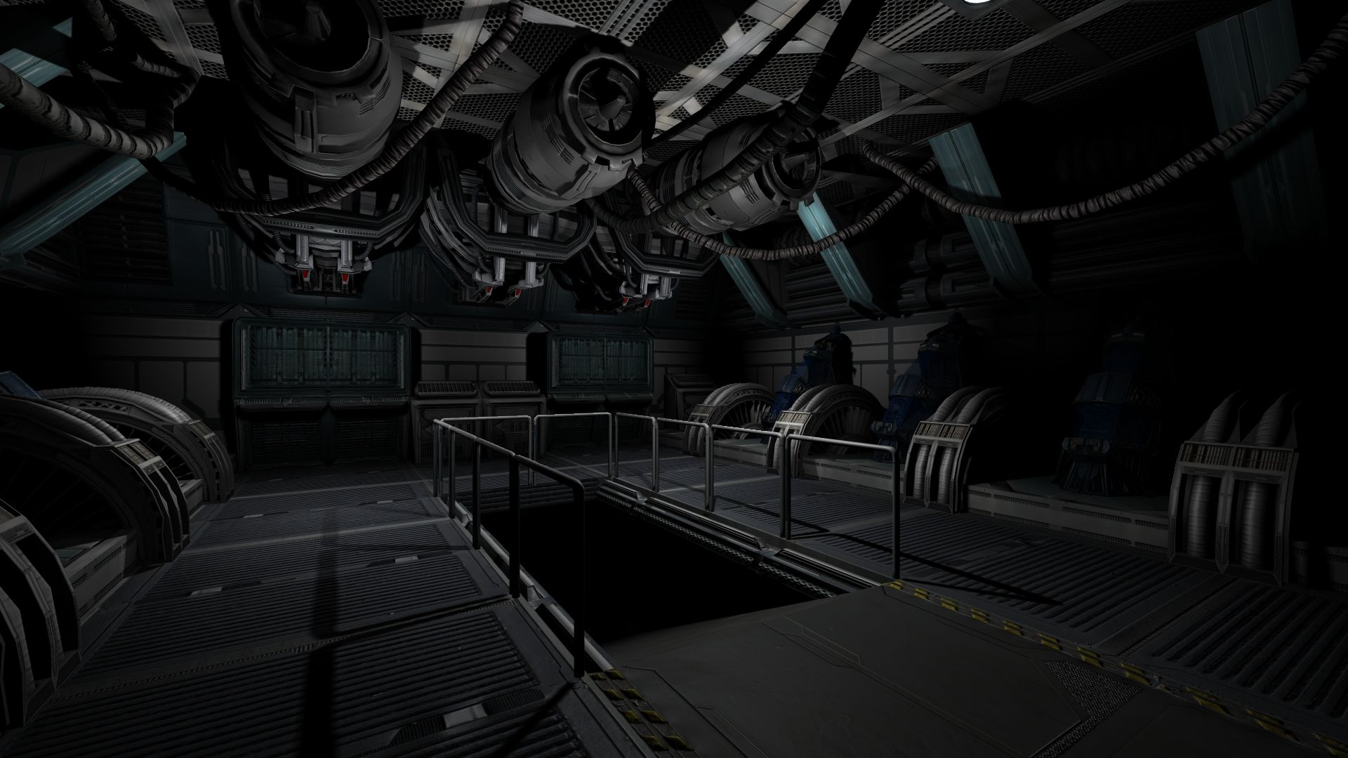 Leadwerks Game Engine - SciFi Interior Model Pack screenshot