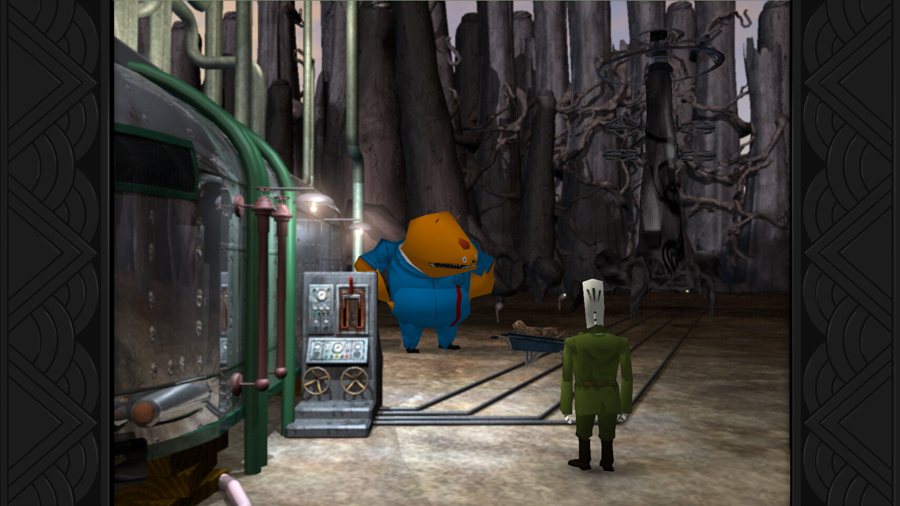 Grim Fandango's environments are brilliant!