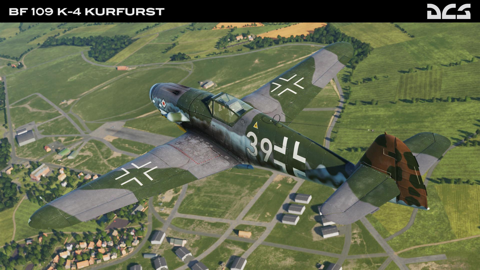 DCS: Bf 109 K-4 Kurfürst screenshot