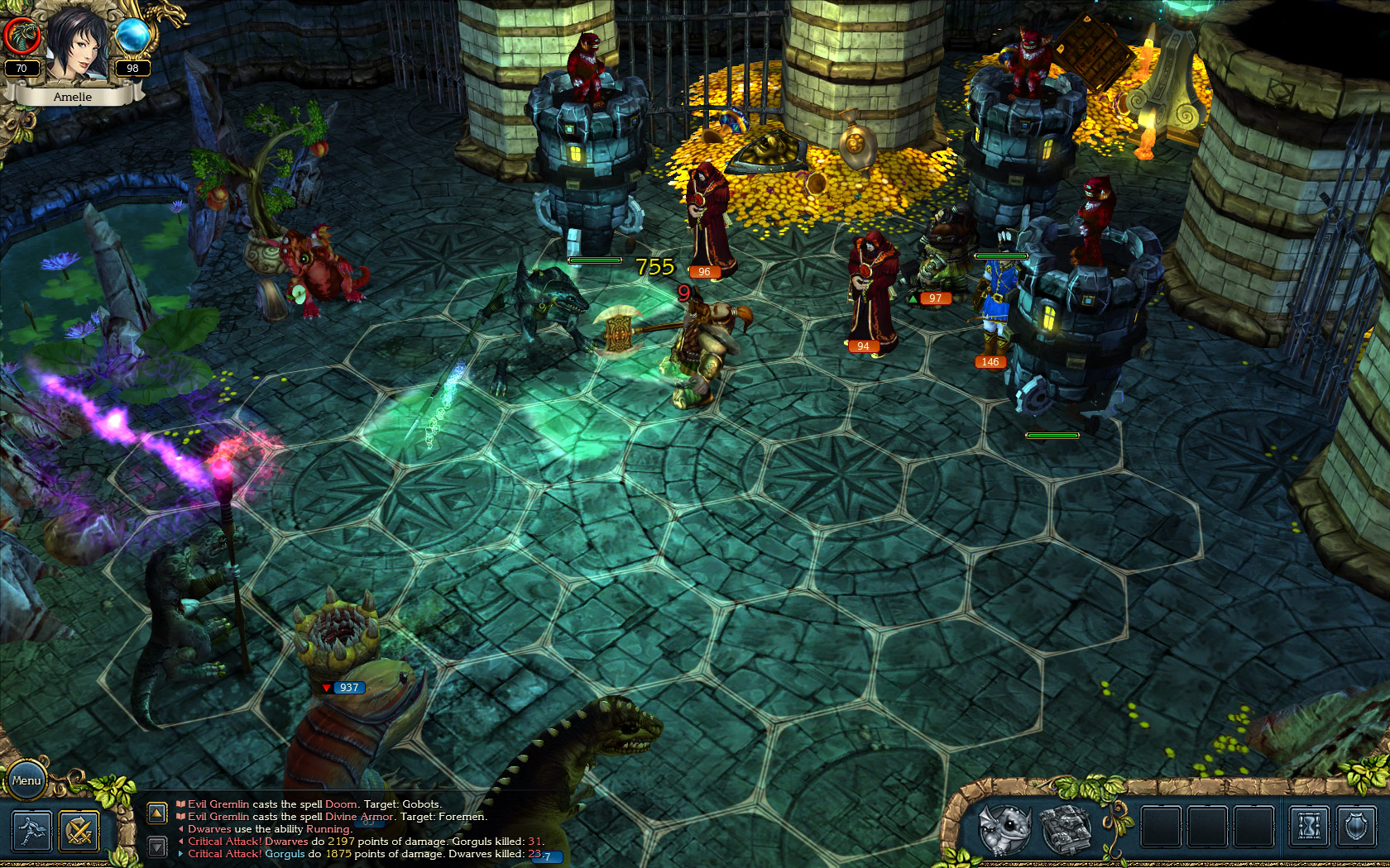 King's Bounty: Armored Princess screenshot