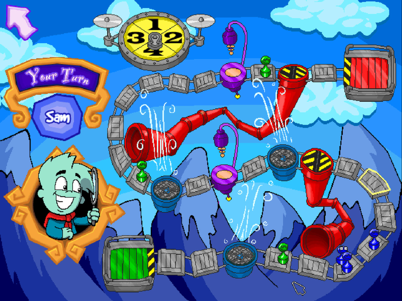 Pajama Sam: Games to Play on Any Day screenshot