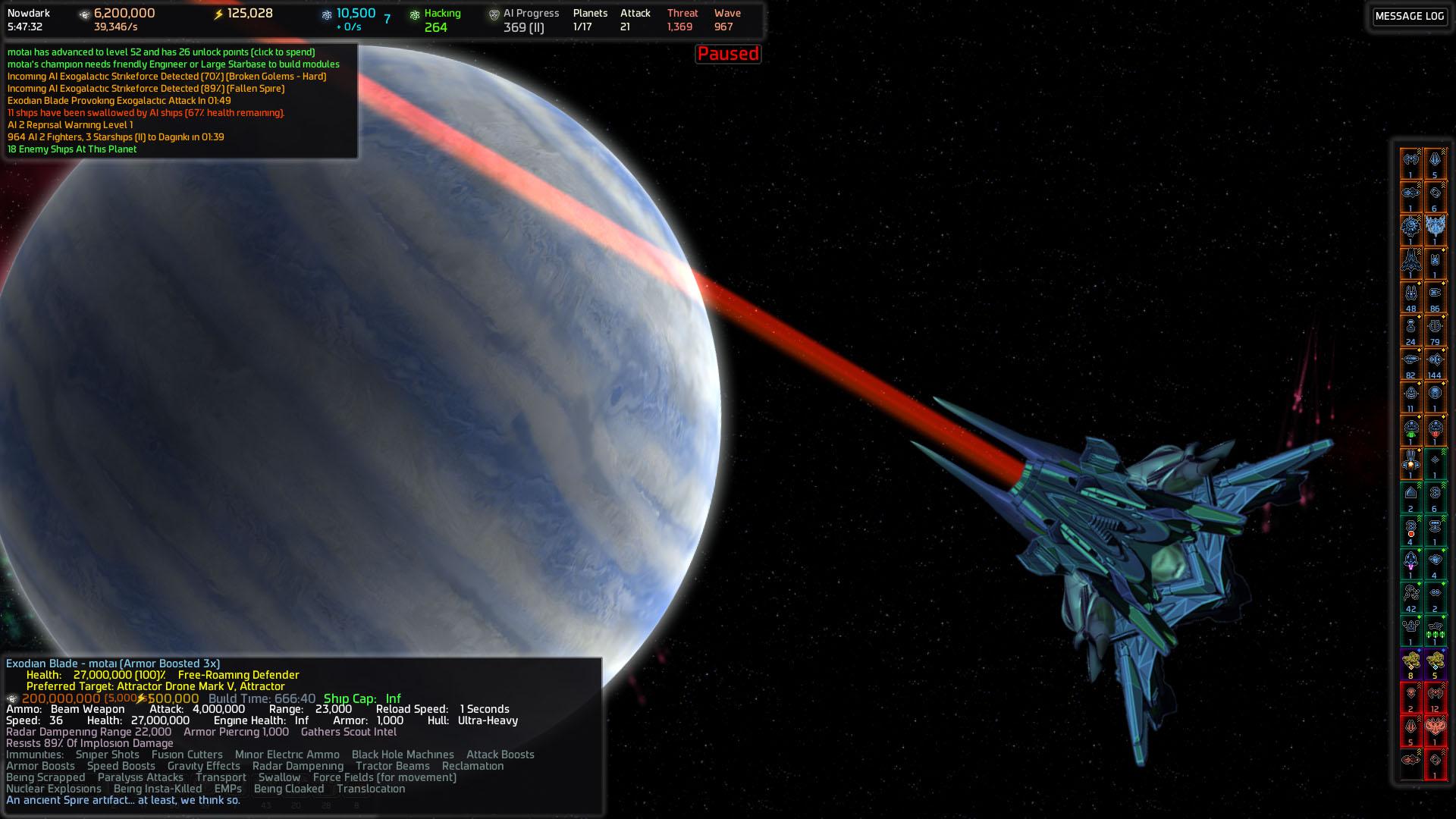 AI War: Destroyer of Worlds screenshot