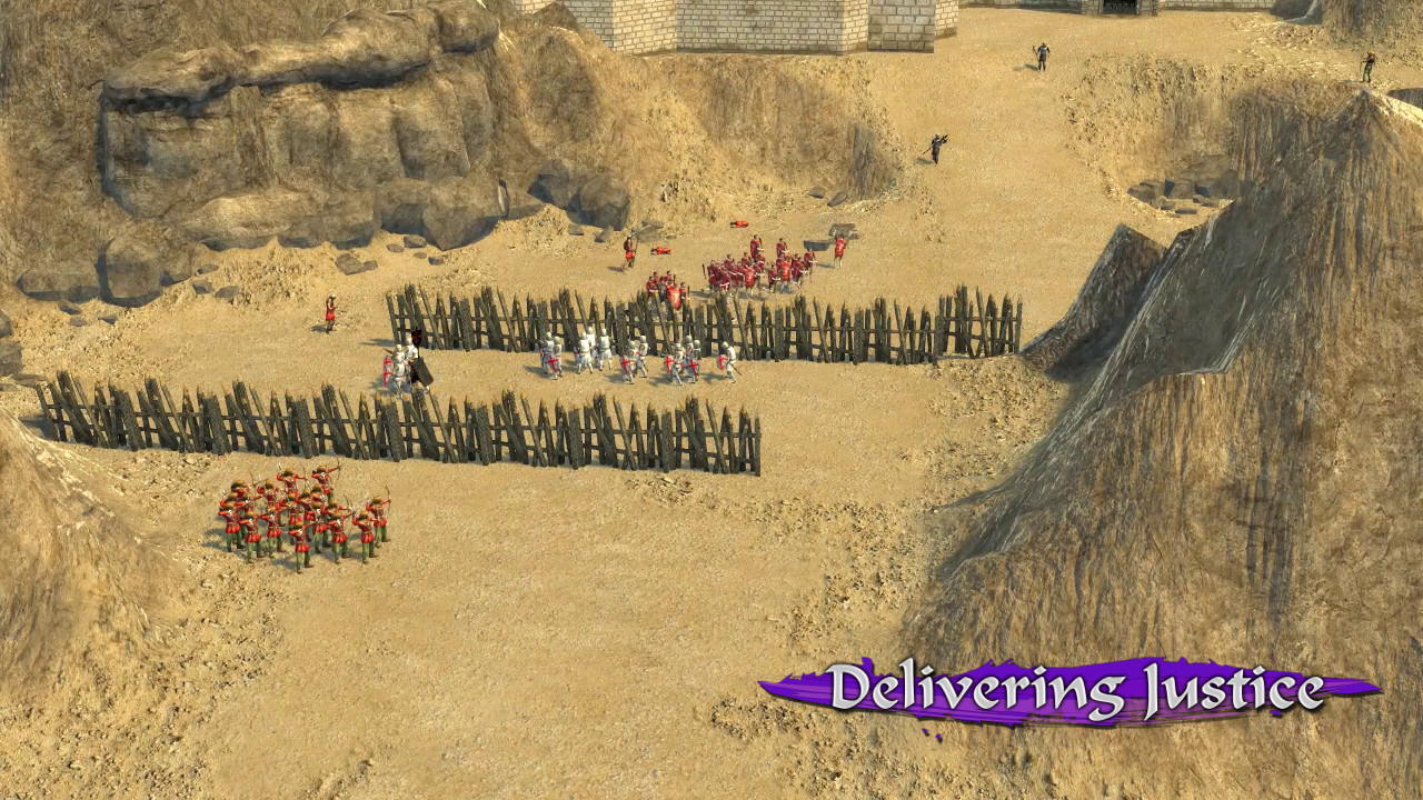 Stronghold Crusader 2: Delivering Justice mini-campaign screenshot
