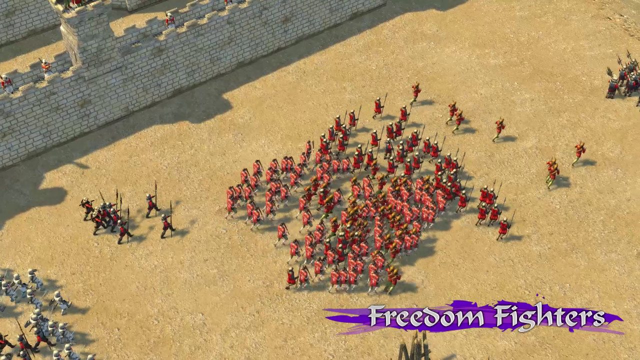 Stronghold Crusader 2: Freedom Fighters mini-campaign screenshot
