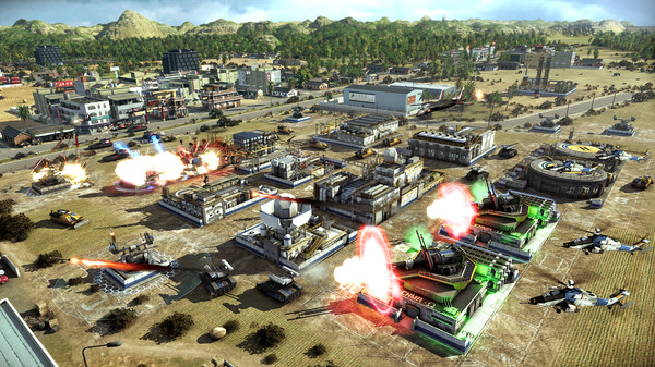 Act of Aggression - Game Screenshot