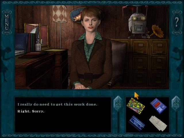 Nancy Drew: The Haunted Carousel screenshot