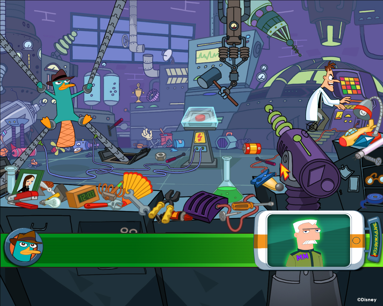 Ferb And Phineas Car Racing Game