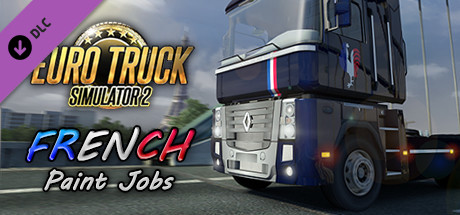 Euro truck simulator 2 french paint jobs pack on steam for Car paint simulator
