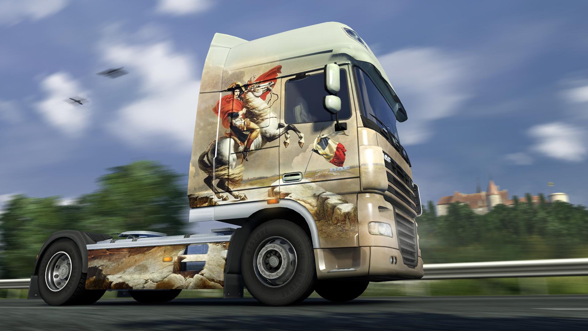Euro Truck Simulator 2 - French Paint Jobs Pack screenshot