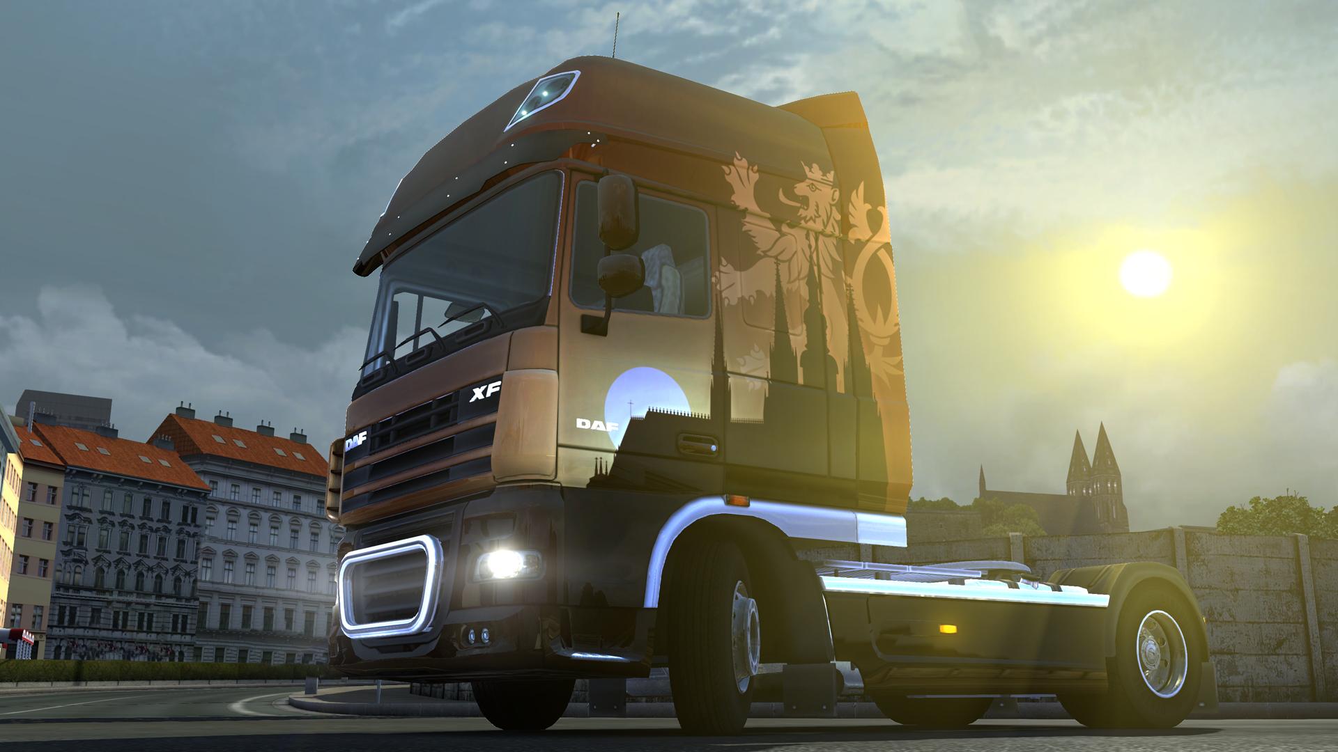Euro Truck Simulator 2 - Czech Paint Jobs Pack screenshot