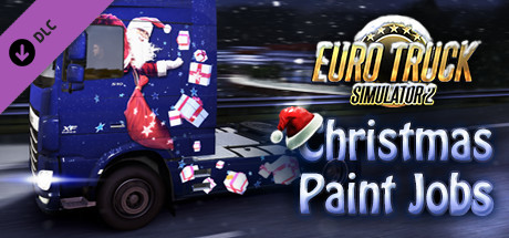 Cheap Euro Truck Simulator 2 - Christmas Paint Jobs Pack steam key