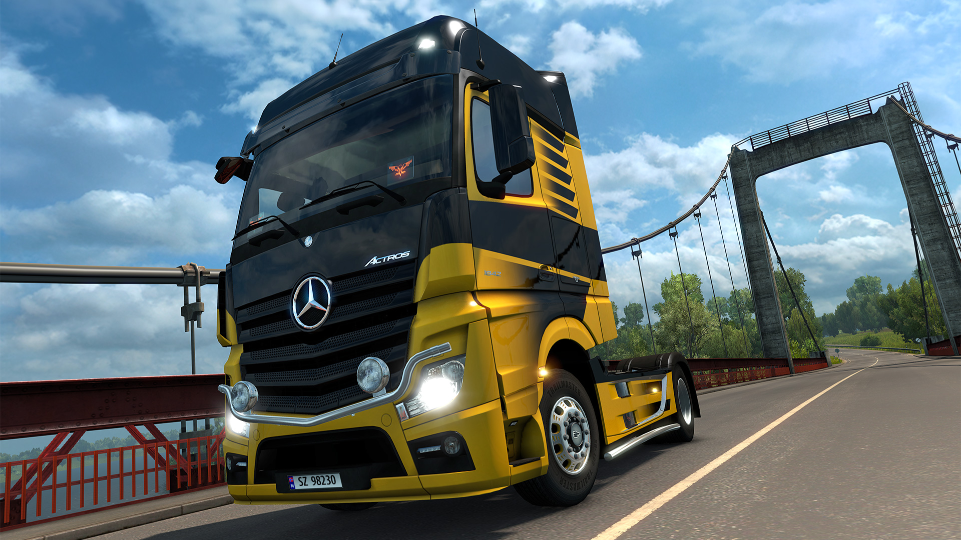 Euro Truck Simulator 2 - Raven Truck Design Pack screenshot
