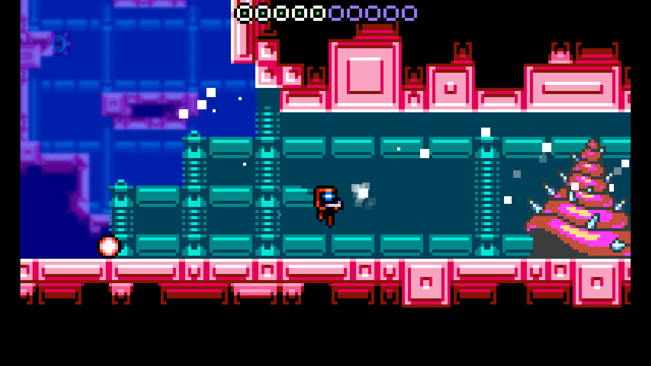 Xeodrifter screenshot