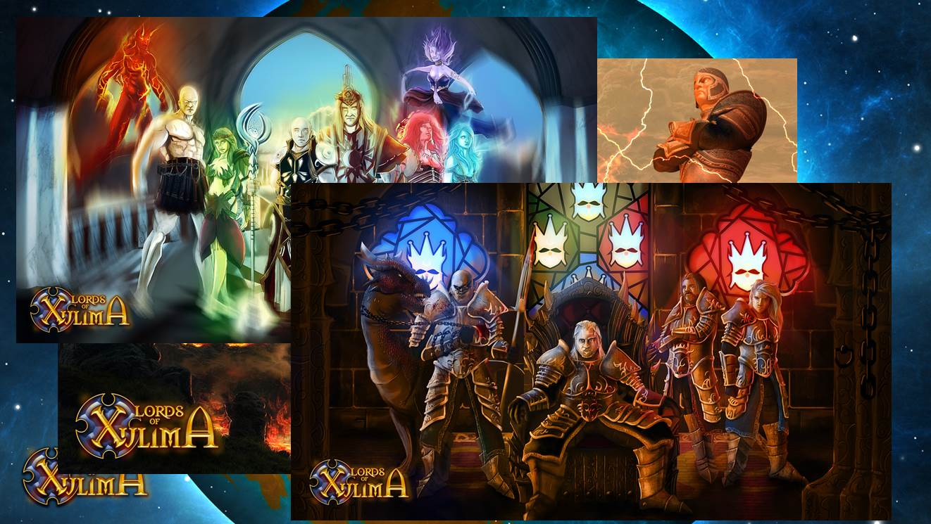 Lords of Xulima - Special Digital Rewards screenshot