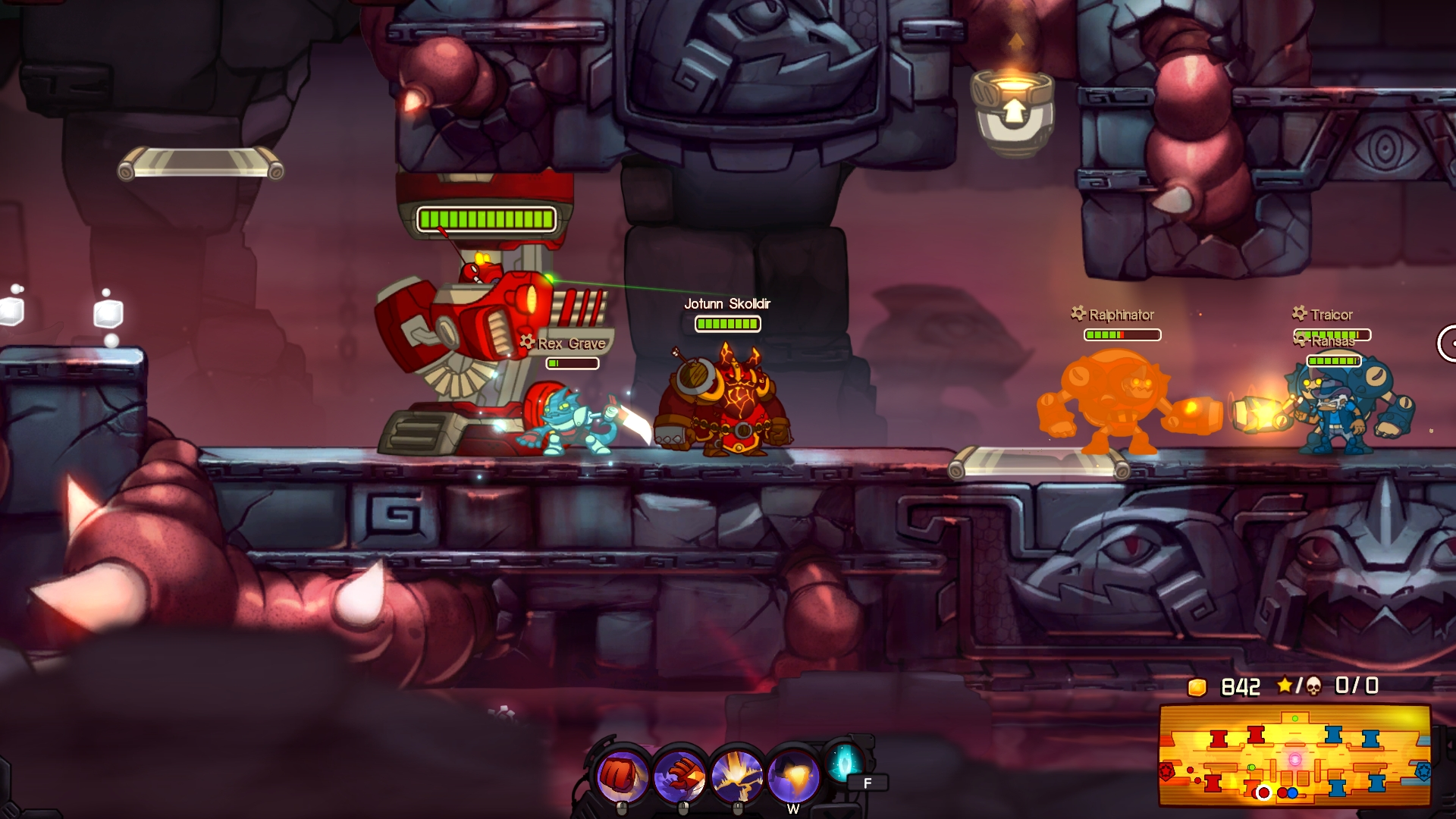Awesomenauts - Jotunn Skølldir Skin screenshot
