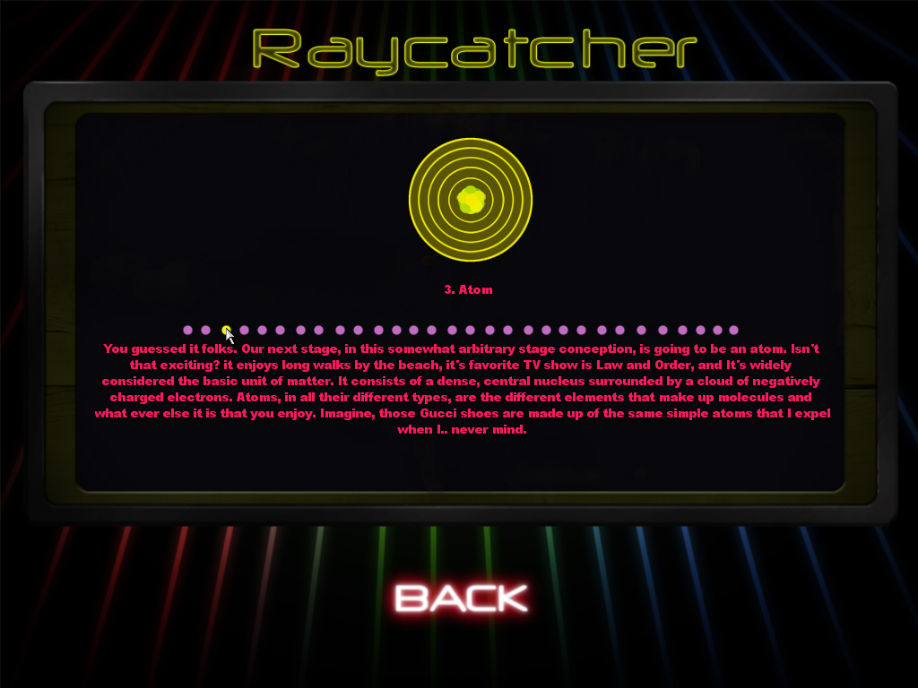 Raycatcher screenshot