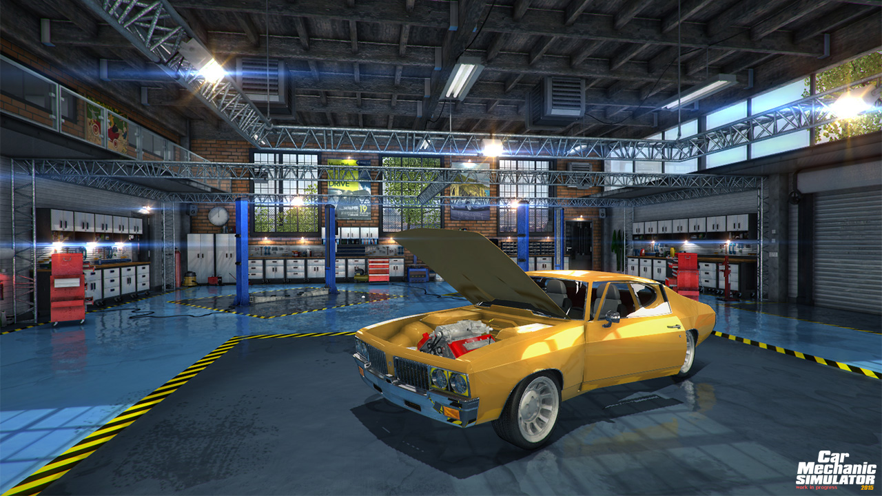 Car Mechanic Simulator 2015 [RePack] [2015|Rus|Eng|Multi12]
