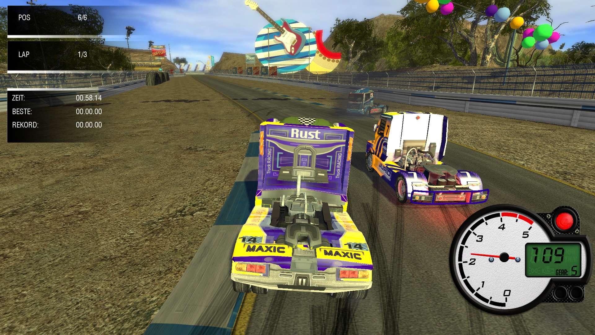 World Truck Racing screenshot