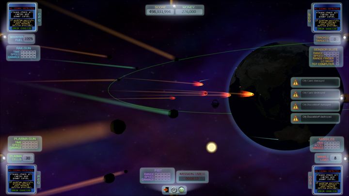 Near Impact screenshot
