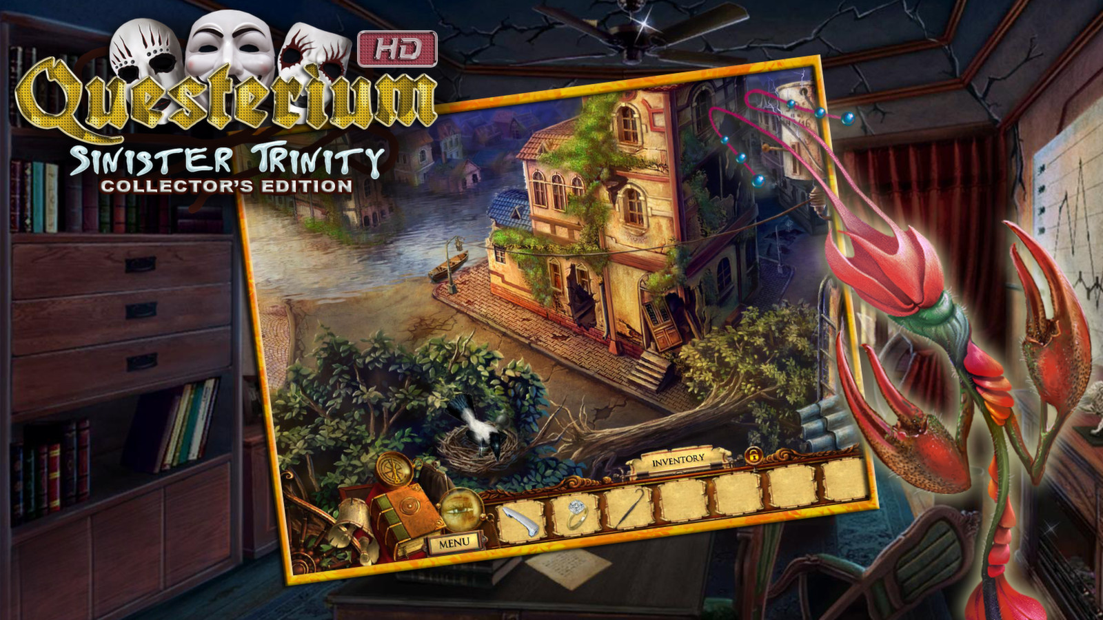 Questerium: Sinister Trinity HD Collector's Edition screenshot