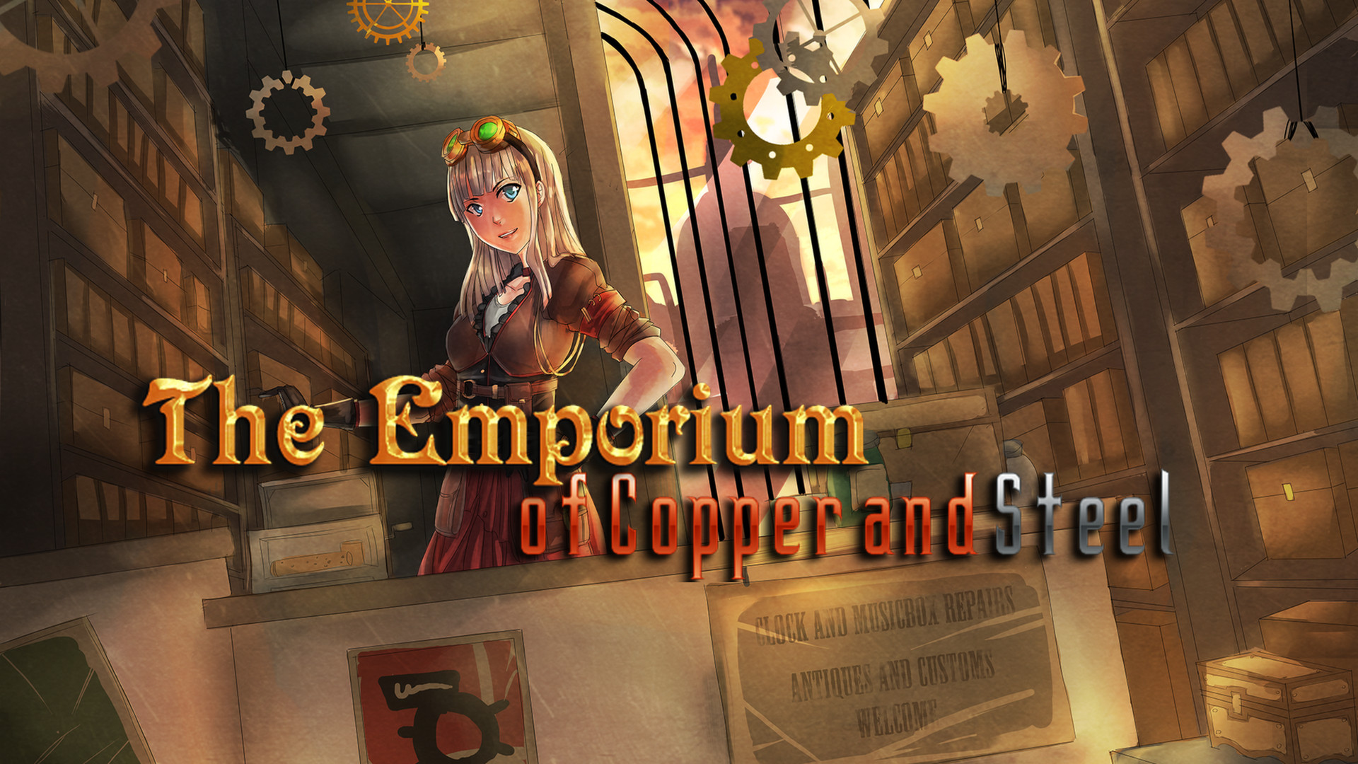 RPG Maker VX Ace - The Emporium of Copper and Steel screenshot