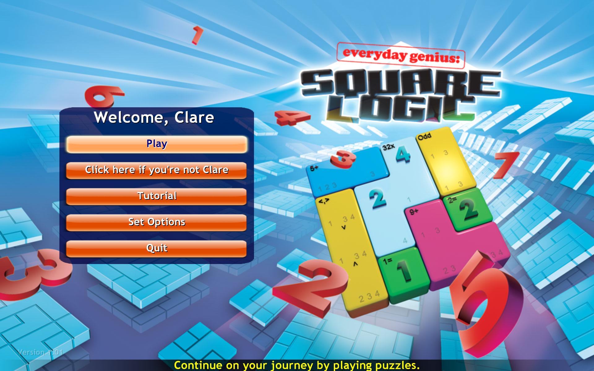 Everyday Genius: SquareLogic screenshot