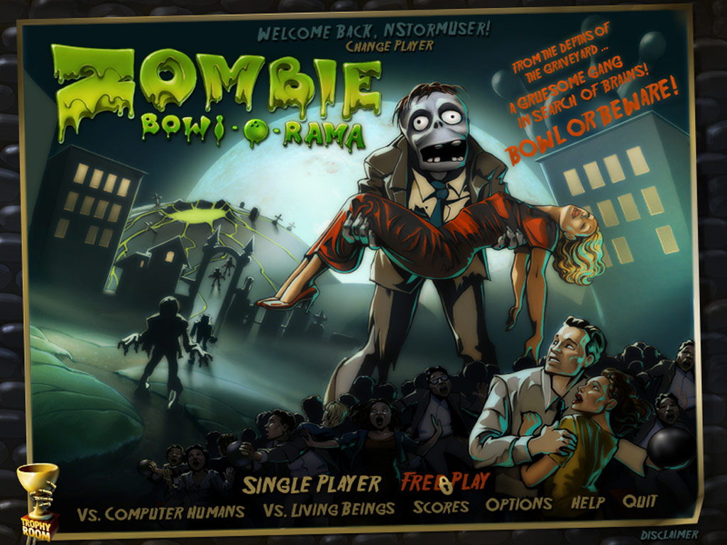 Zombie Bowl-o-Rama screenshot