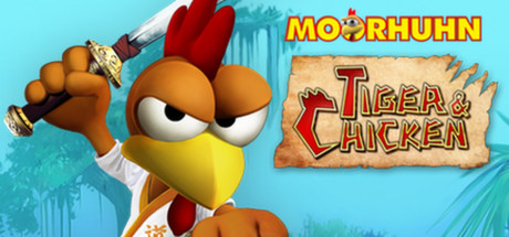 Moorhuhn: Tiger and Chicken game image