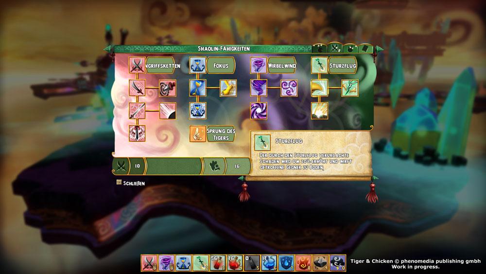 Moorhuhn: Tiger and Chicken screenshot