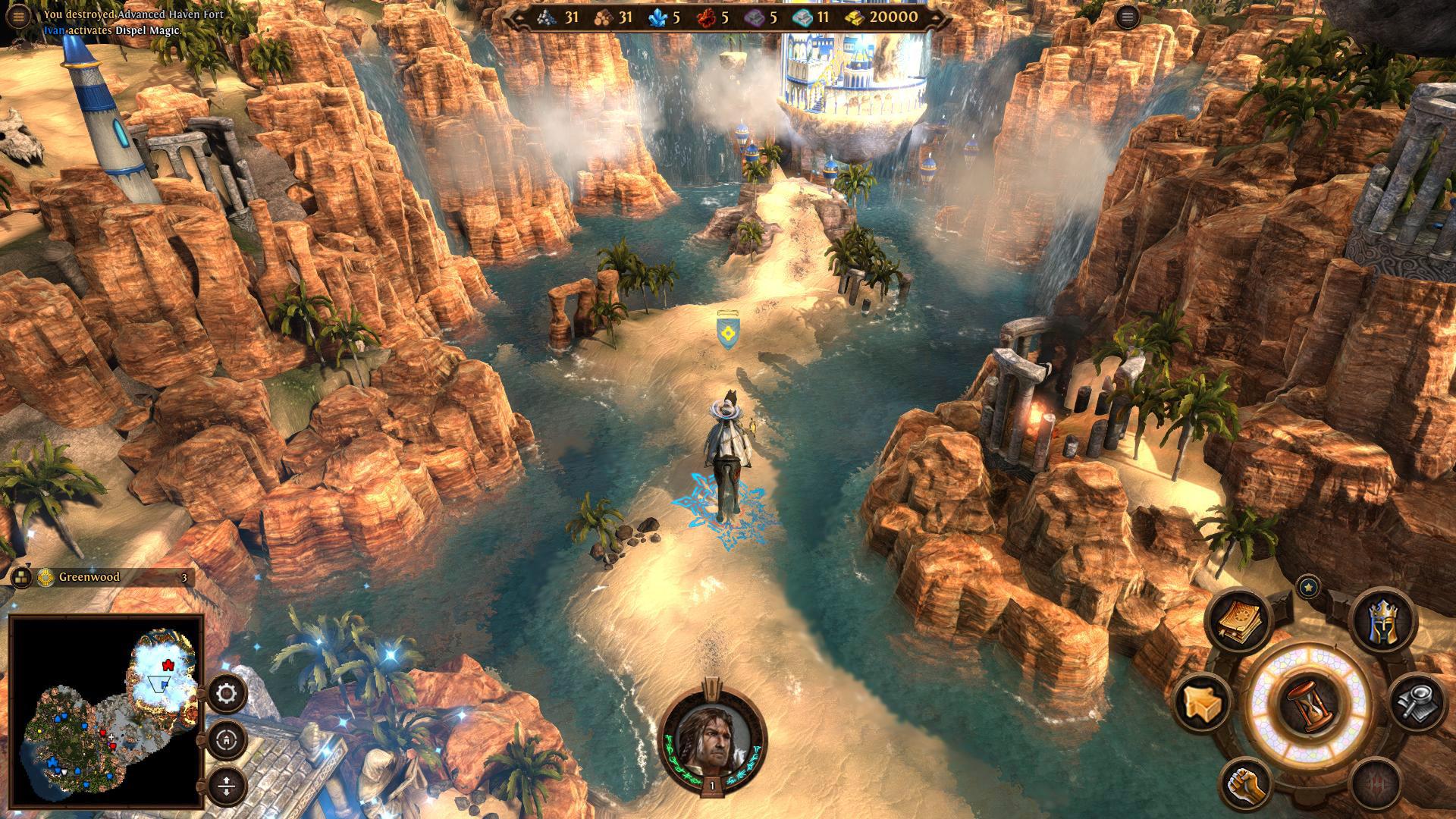 Might & Magic Heroes VII screenshot